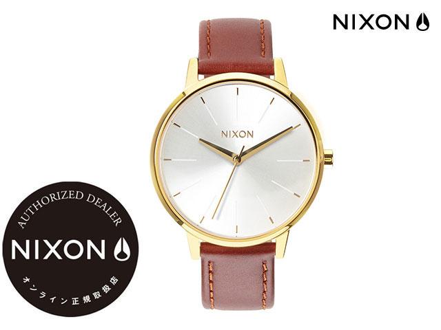 【国内正規品】 ニクソン NIXON THE KENSINGTON LEATHER GOLD/SADDLE ザ ケンジントン レザー ゴールド/サドル 腕時計 WATCH