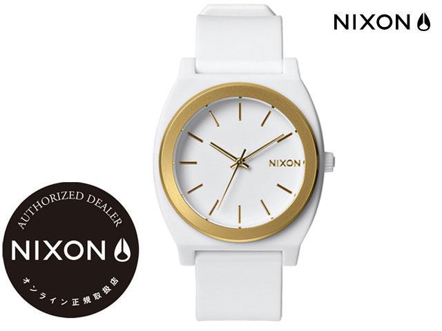 【国内正規品】 ニクソン NIXON THE TIME TELLER P WHITE/GOLD ANO ザ タイムテラー ホワイト/ゴールド 腕時計 WATCH