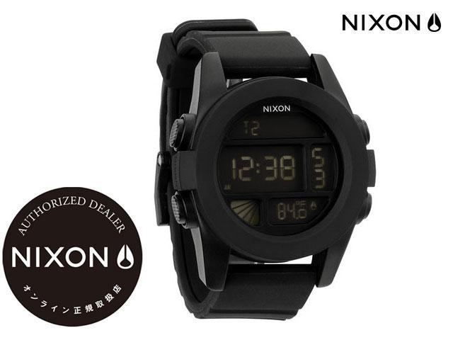 【国内正規品】 ニクソン NIXON 腕時計 THE UNIT BLACK NA197000
