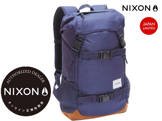 【国内正規品】 ニクソン NIXON 【日本限定商品】 SMALL LANDLOCK BACKPACK NAVY スモール ランドロック バックパック バッグネイビー NC2256307-00 リュック 【JAPAN LIMITED】1215_NIXON_SMALL LANDLOCK