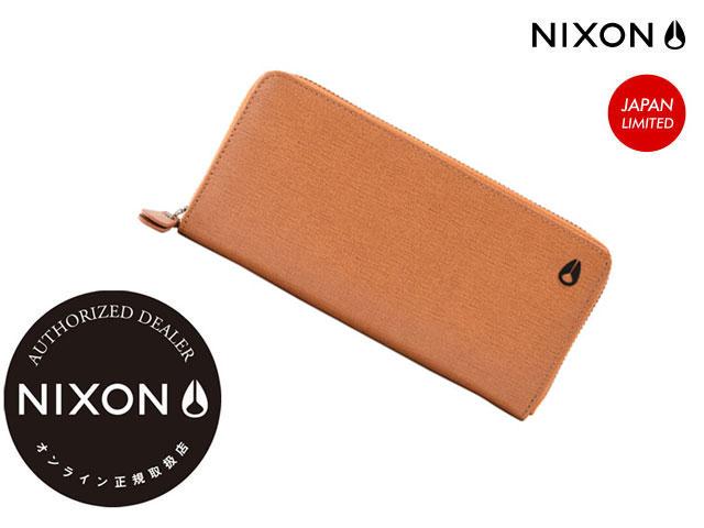 【国内正規品】 ニクソン NIXON 【日本限定】 MOOR2 WALLET CAMEL ムーア ウォレット キャメル 財布 長財布 サイフ