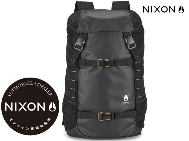 【国内正規品】 ニクソン NIXON 【新作】ランドロック3 LANDLOCK3 BACKPACK ALL BLACK NYLON オールブラック ナイロン 黒 LANDLOCKIII ランドロックIII バックパック リュック