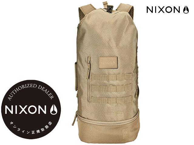 【国内正規品】 ニクソン NIXON -【新作】バックパック オリガミ ORIGAMI XL BACKPACK GT NC29012989-00 COVERT コバート ベージュ リュック バッグ