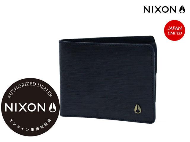 【国内正規品】 ニクソン NIXON 【日本限定】 LUIS WALLET NC2990307-00 NAVY ルイス ウォレット 財布 折り畳み財布 サイフ