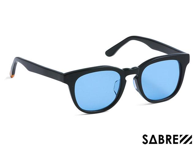 【国内正規品】 セイバー SABRE BELAIR SS7-501B-LB-J BLACK GLOSS/LT BLUE ベルエア ブラック グロス/ライトブルー レンズ サングラス メガネ