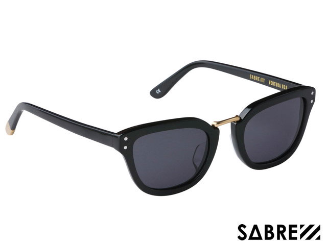 【国内正規品】 セイバー SABRE VENTURA SS7-510B-G-J BLACK GLOSS/GREY LENS ベンチュラ ブラック グロス/グレー レンズ サングラス メガネ