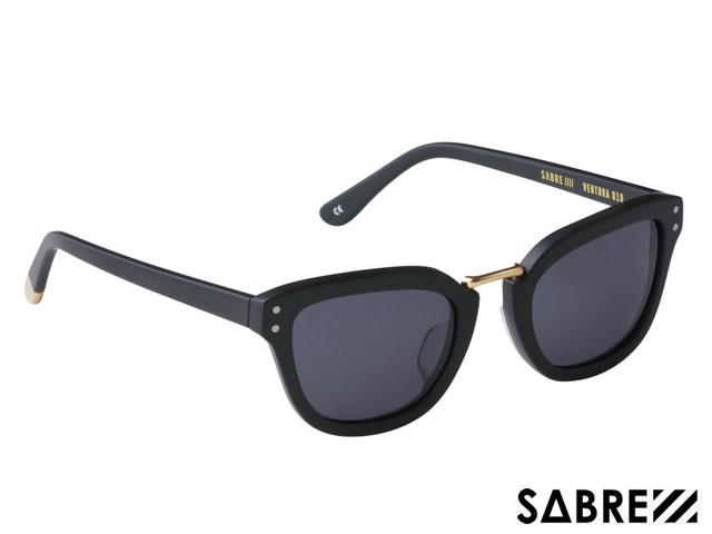 【国内正規品】 セイバー SABRE VENTURA SS7-510MB-G-J MATTE BLACK/GREY ベンチュラ マットブラック/グレー レンズ サングラス メガネ