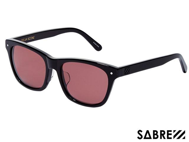 【国内正規品】 セイバー SABRE FREAKSCENE BLACK/MAROON フリークシーン ブラック/マルーン sv204 サングラス