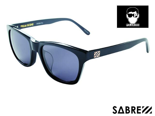 【国内正規品】 セイバー SABRE FREAKSCENE GLOSS BLK/GREY フリークシーン グロス ブラック/グレー 偏光レンズ sv204 サングラス