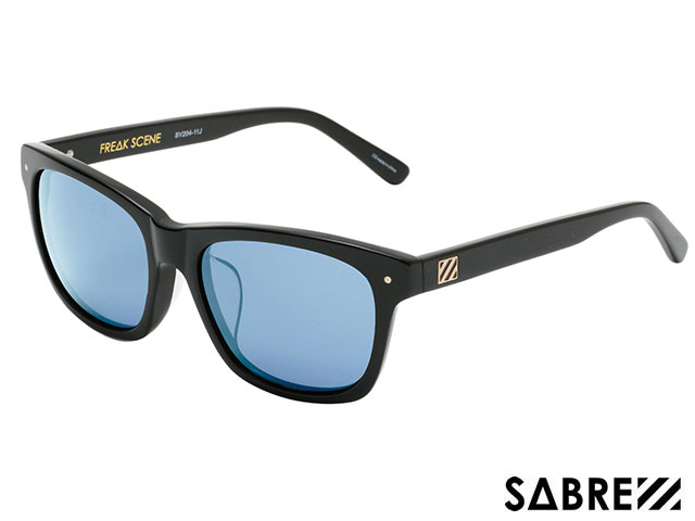 【国内正規品】 セイバー SABRE FREAKSCENE GLOSS BLACK/ LIGHT BLUE フリークシーン グロスブラック/ライト ブルー sv204 サングラス