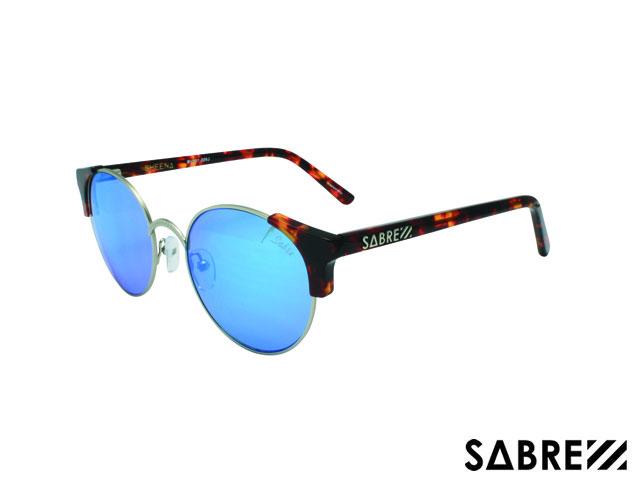 【国内正規品】 セイバー SABRE シーナ sv207-226j SHEENA TORT/MT SILVER/BLUE MIRROR サングラス