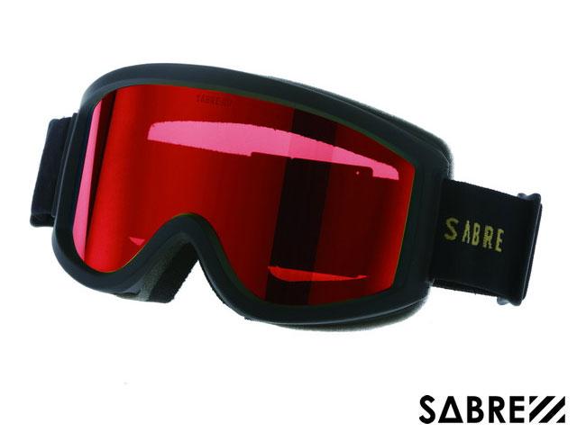 【国内正規品】 セイバー SABRE ACID RIDER SVG1701BKRD MT BLACK/ORANGE/RED アシッドライダー ゴーグル マットブラック オレンジ レッド 黒/オレンジ/赤 スノーボード ジャパンフィット ハードケース付 偏光レンズ サングラス