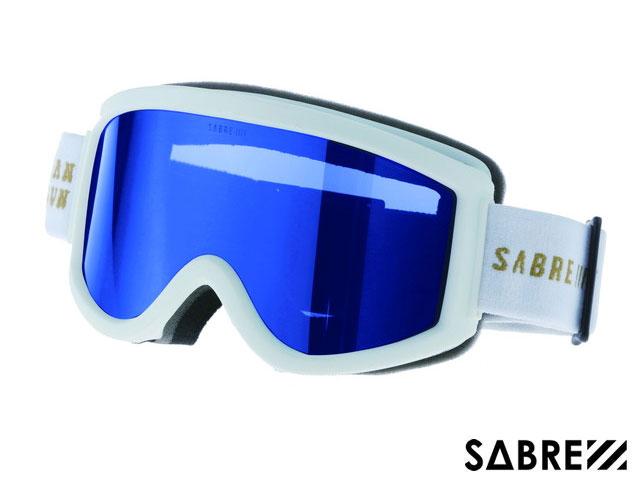 【国内正規品】 セイバー SABRE ACID RIDER SVG1702WTBL MT WHITE/ORANGE/BLUE アシッドライダー ゴーグル マットホワイト オレンジ ブルー 白/オレンジ/青 スノーボード ジャパンフィット ハードケース付 偏光レンズ サングラス