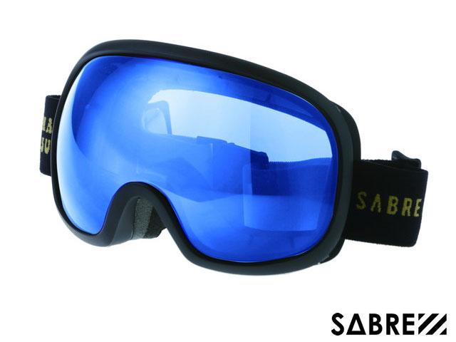 【国内正規品】 セイバー SABRE HIGH POINT SVG1703BKBL MT BLACK/ORANGE/BLUE ハイポイント ゴーグル マットブラック オレンジ ブルー 黒/オレンジ/青 スノーボード ジャパンフィット ハードケース付 偏光レンズ サングラス
