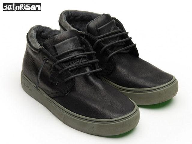 SATORISAN 【18FWモデル】 サトリサン カイゼン ミッド プルアップ ブラック KAIZEN MID PULL UP BLACK スニーカー ブーツ