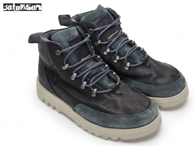 SATORISAN 【18FWモデル】 サトリサン キソ ナパ ブラック Kiso Napa Black スニーカー ブーツ