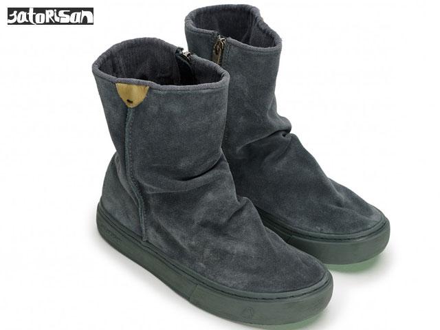SATORISAN 【18FWモデル】 サトリサン メラキ スエード グラナイト Meraki Suede Granite スニーカー ブーツ