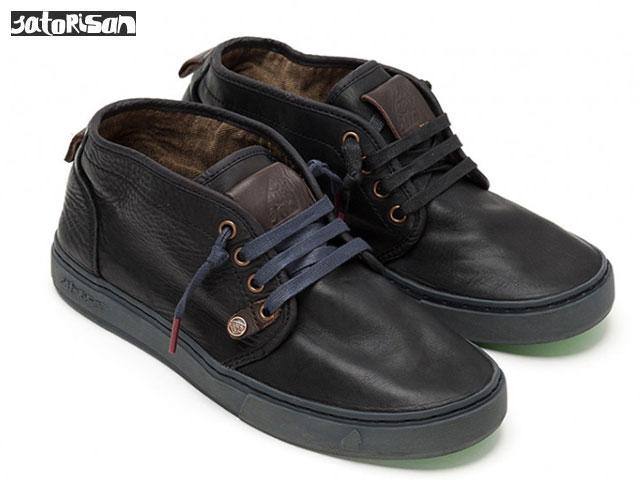 SATORISAN 【18FWモデル】 サトリサン ヤスラギ ナパ ブラック YASURAGI NAPA BLACK スニーカー ブーツ