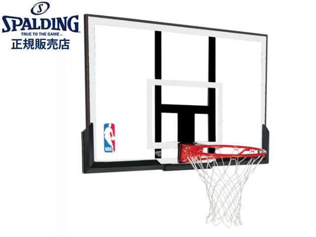 【国内正規品】 スポルディング SPALDING 【代引き不可】【メーカー直送】NBAアクリルコンボ NBAロゴ入り バスケットゴール (NBA公認) バスケットボール