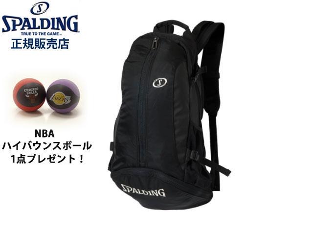 【国内正規品】 スポルディング SPALDING クラッシー ケイジャー ブラック バックパック バッグ リュック 41-009 バスケットボール