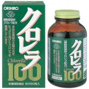 【送料無料・代引不可】 クロレラ100(直送品) オリヒロお得な2個セット 【HLS_DU】P15Aug15