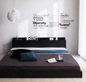선반 및 집중 된 층 침대 지평선 바닥 침대/싱글/세미 더블/더블 사이즈/프레임/매트리스/본 네루 코일/포켓 코일/멀티 테라스 슈퍼/하드/레 귤 러 2P13Dec14