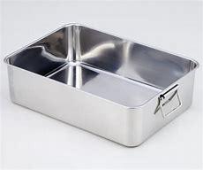 【ステンレスバット/深型】【2枚取:635x420x150mm】【容量:33L】取っ手付き クローバー 深い 角バット 調理道具 調理器具 使いやすい 大容量 大きい 業務用 厨房 キッチン 丈夫♪ おすすめ トレー 衛生的 使いやすい