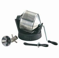 自宅で自分好みに【珈琲焙煎機】【手動】【400~500g】サンプルロースター(パンチング)家庭用ガスコンロ使用可