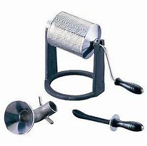 自宅で自分好みに【珈琲焙煎機】【手動】【100~200g】サンプルロースター(パンチング)家庭用ガスコンロ使用可