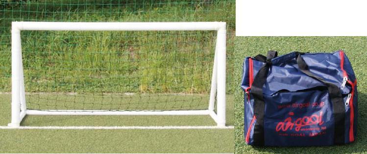 ポイント15倍! Air Goal Pro Series 練習用 エアゴール サッカーゴール (200cm×100cm)  空気で作るサッカーゴール♪ AN-F6533