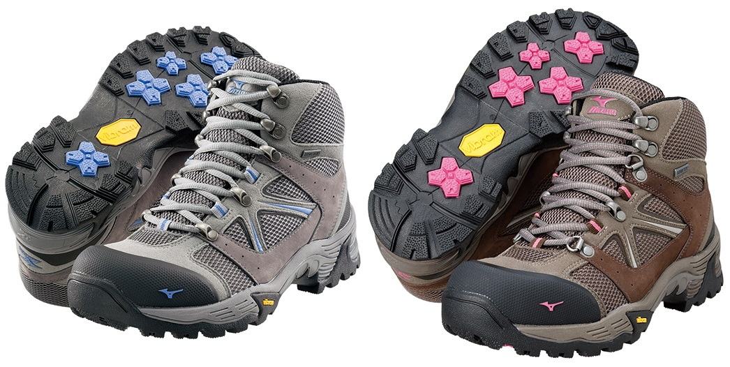 ミズノ MIZUNO ウエーブナビゲーション レディース トレッキングシューズ 登山靴 1登山道での動作解析結果をソールに反映。より山歩きに則した設計で、軽快な山歩き♪ 19KM151
