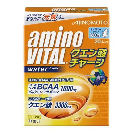 送料無料! 味の素  アミノバイタル クエン酸チャージウォーター (500ml用×20本入り)×5箱セット 16AM7060
