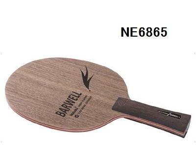 ニッタク 日卓 卓球ラケット バーウェルFL 表面に硬質木材使用♪  NE6865