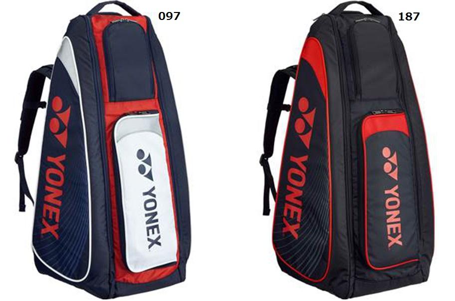 2018 ヨネックス【YONEX】 テニス スタンドバック テニスラケット6本収納可能♪ BAG1819