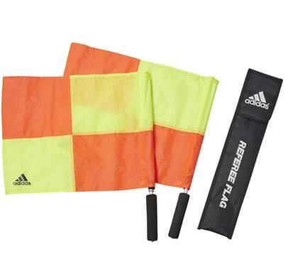 アディダス サッカー 往復送料無料 期間限定の激安セール 11レフェリーフラッグ ケース付き 審判用品 JH399