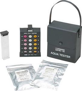 エバニュー 水質検査用品  残留塩素測定器6 EHB139