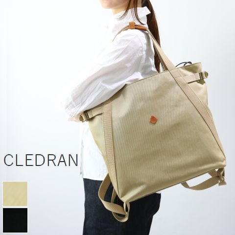 【クーポン対象外】 CLEDRAN (クレドラン)MONT SERIES2WAY BAG 2colormade in japancl-2910