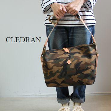 CLEDRAN (クレドラン)CAMOUFLAGE SERIESSHOULDER Lmade in Japan cl-1920-b