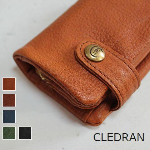 【クーポン対象外】 CLEDRAN (クレドラン)SACRE SERIESKEY COIN CASE 5colormade in Japan cl-2274-e【Wallet】