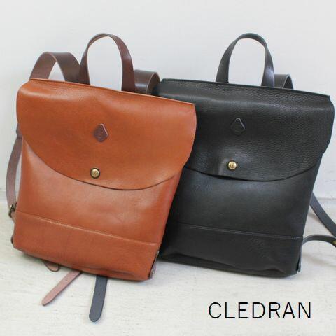 【クーポン対象外】 【最後の1点です】 CLEDRAN (クレドラン)AMO SERIESRUCKSACK 2color(made in Japan) cl-2323【RUCKSACK】