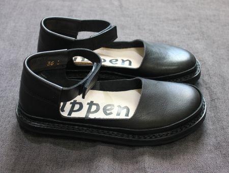 【一部予約商品】 trippen(トリッペン) レザーアンクル ストラップシューズ【正規取扱店】