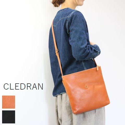 【クーポン対象外】 CLEDRAN (クレドラン)DEBOR SERIESSHOULDER 2color made in japancl-2741