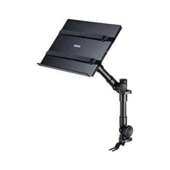 社内で快適パソコン操作 車載用ノートパソコン台 CAR-SPHLD1
