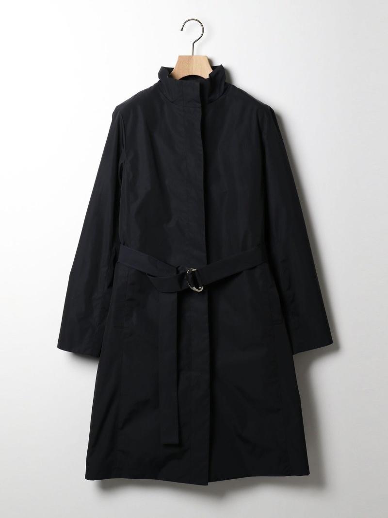 タフタフタコート SCAPA スキャパ コート/ジャケット ロングコート ネイビー グレー【送料無料】[Rakuten Fashion]