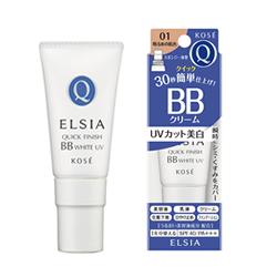 斯 elacia (ELSIA) 白金快速完成 BB 白 UV SPF40 / PA + + + 02 标准皮肤 (35 克)