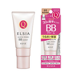斯 elacia (ELSIA) 白金快速完成 BB 霜湿润 UV SPF26 / PA + + 01 肤色 (35 克)
