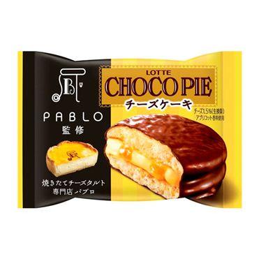 Expiration: 11/2016 23, Lotte Choco pie PABLO supervised cheesecake pieces sale (set of 6) chocolate cake