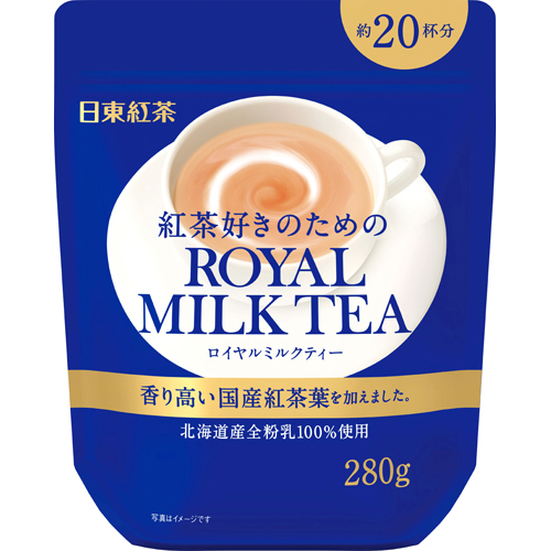 The expiration date: Royal tea with milk (280 g) for February, 2018 Nitto tea tea enthusiasts