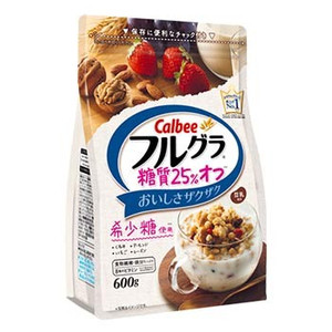 All the shop articles point 10 times - カルビーフルグラ sugar 25% off (600 g)