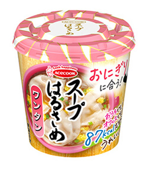 エースコック スープはるさめ ワンタン (24g) インスタントカップスープ